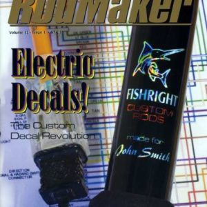 rodmaker magazine issue volume 12 #1 cover