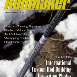 rodmaker magazine issue volume 12 #2 cover