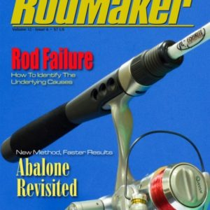 rodmaker magazine issue volume 12 #6 cover