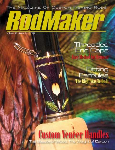 rodmaker magazine issue volume 13 #1 cover
