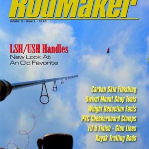 rodmaker magazine issue volume 13 #3 cover