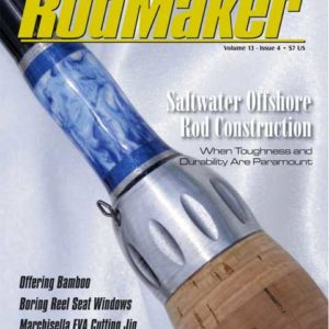 rodmaker magazine issue volume 13 #4 cover