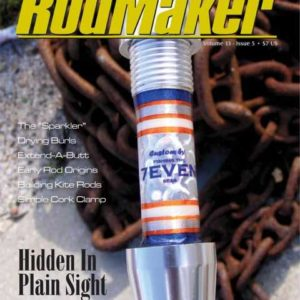 rodmaker magazine issue volume 13 #5 cover