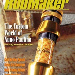 rodmaker magazine issue volume 15 #4 cover