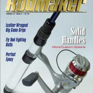 rodmaker magazine issue volume 15 #5 cover