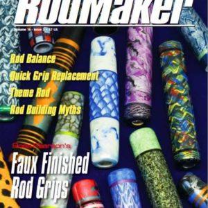 rodmaker magazine issue volume 16 #3 cover