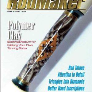 rodmaker magazine volume 16 #5 cover