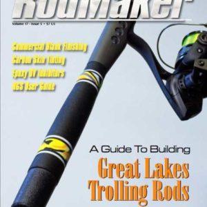 rodmaker magazine issue volume 17 #5 cover