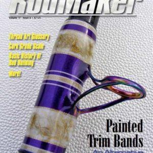 rodmaker magazine issue volume 17 #6 cover