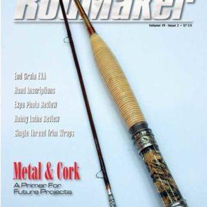 rodmaker magazine issue volume 19 #2 cover