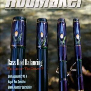 rodmaker magazine issue volume 20 #1 cover