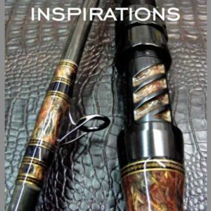 cover of inspirations book on custom rod buidling by nuno paulino
