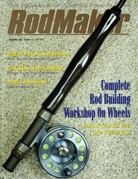 rodmaker magazine issue volume 10 #5 cover