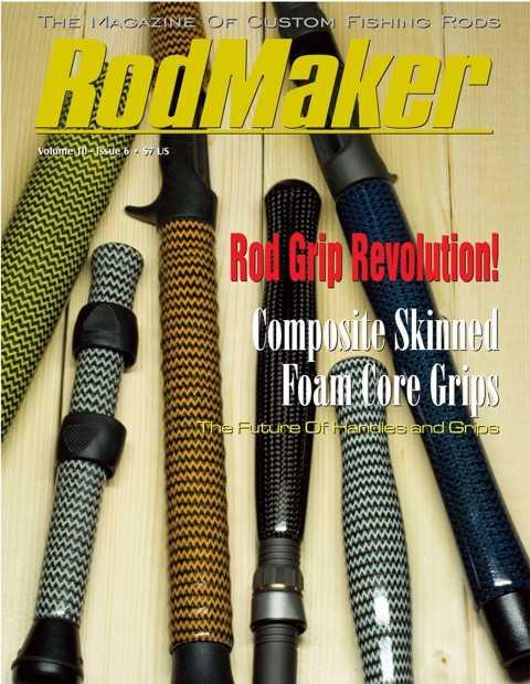 rodmaker magazine issue volume 10 #6 cover