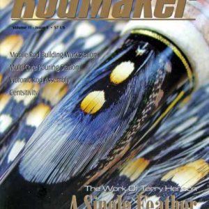 rodmaker magazine issue volume 11 #1 cover