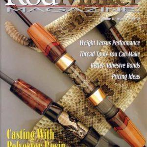 rodmaker magazine issue volume 8 # cover
