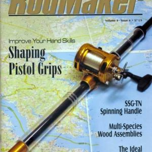 rodmaker magazine issue volume 9 #4 cover