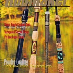 rodmaker magazine issue volume 9 #6 cover