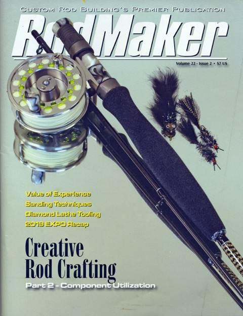 rodmaker magazine volume 22 #2 cover