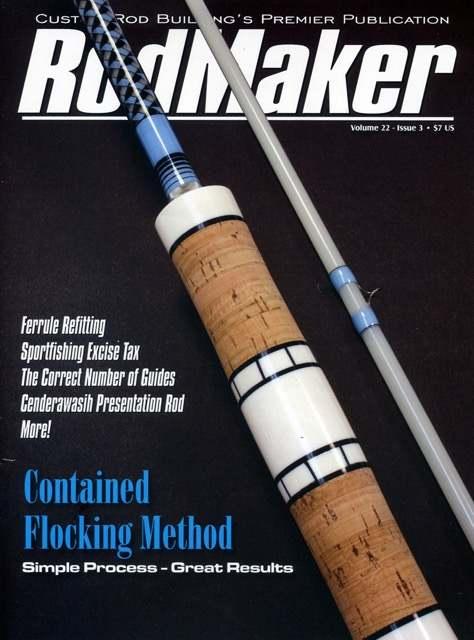 rodmaker magazine volume 22 #3 cover