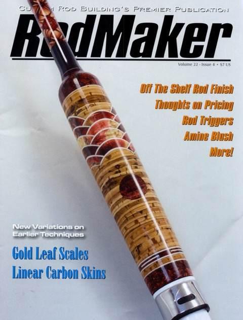 rodmaker magazine volume 22 #4 cover