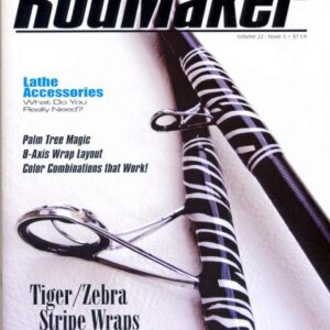 rodmaker magazine volume 22 #5 cover