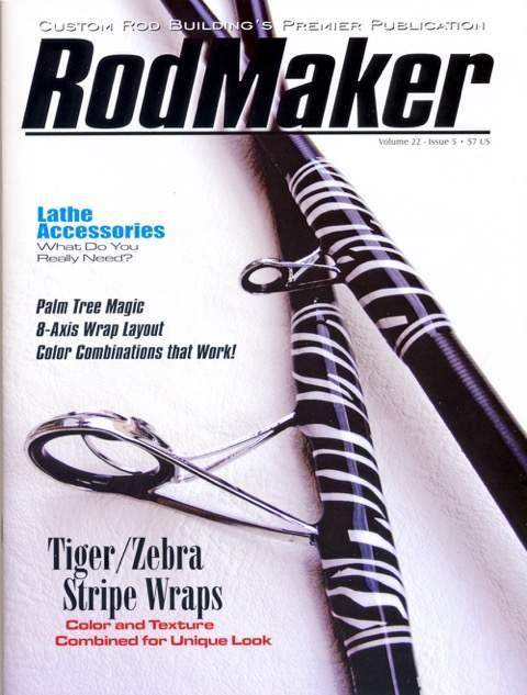rodmaker magazine volume 22 #5 cover