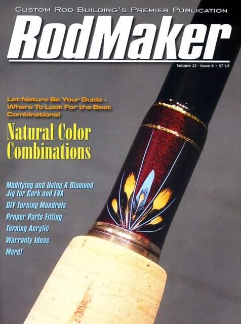 rodmaker magazine volume 22 #6 cover